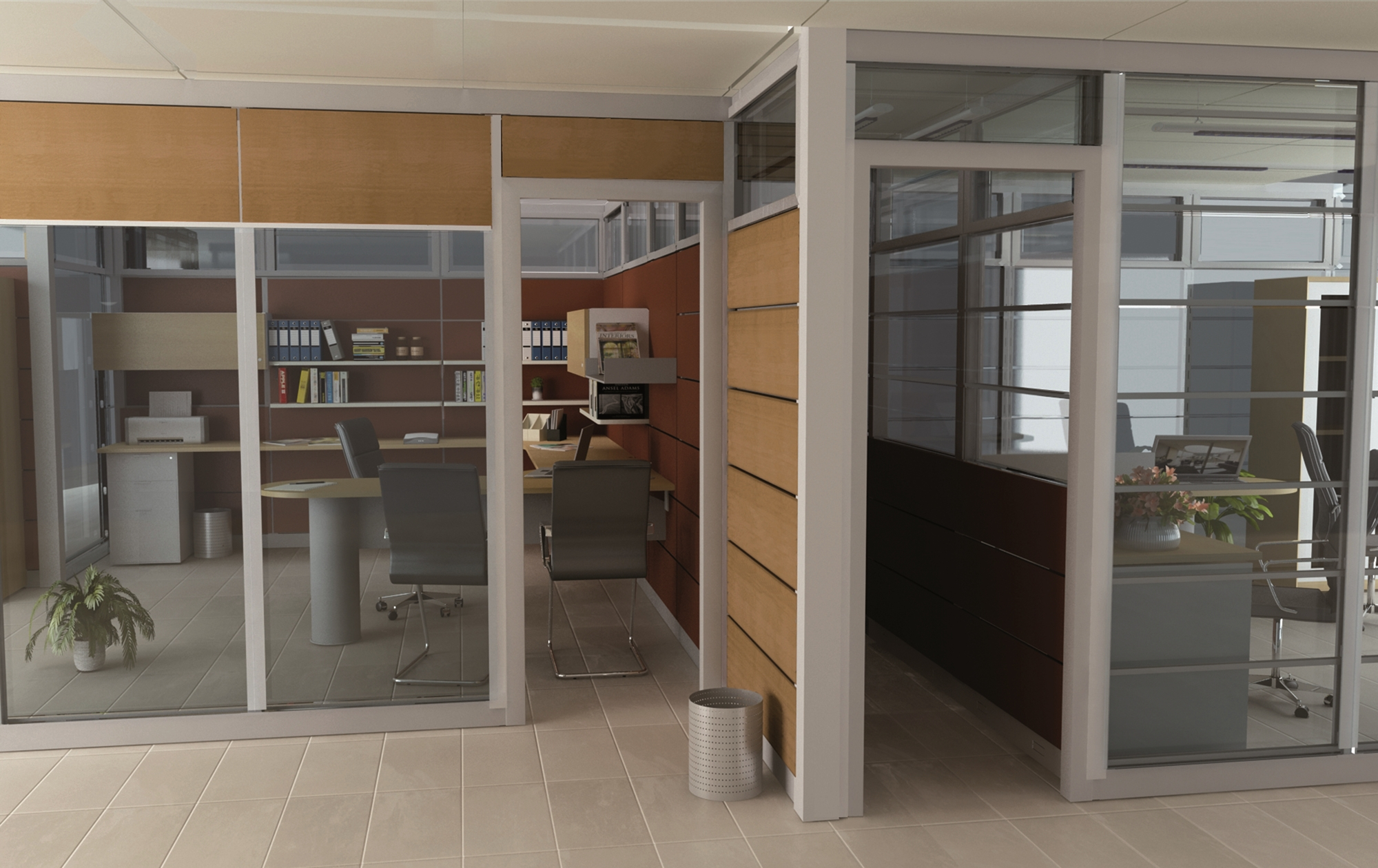 Las ventajas de utilizar separadores de oficina bering for Separadores de oficina